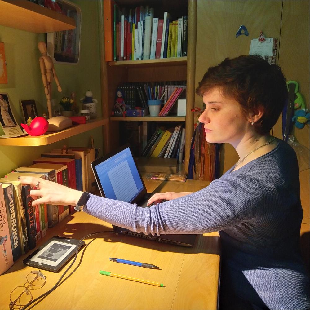 Il romanzo della scrittrice biellese Veronica Rosazza Prin uscirà nelle librerie nei prossimi mesi, pubblicato da Santelli editore.