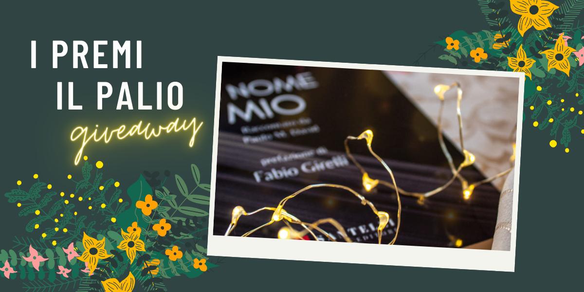 """Una copia del romanzo """"In nome mio"""" di Veronica Rosazza Prin, edito da Santelli, verrà regalata al fortunato vincitore del giveaway di Natale!"""