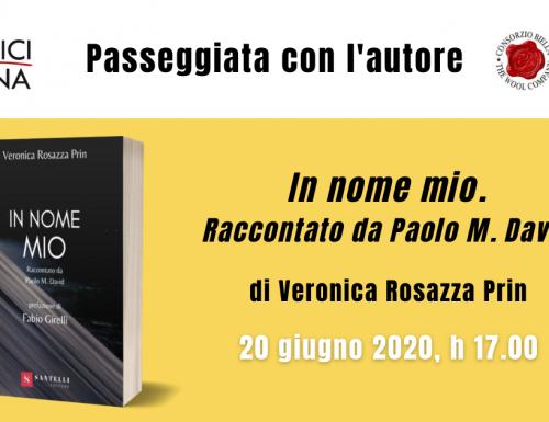 Passeggiata con l'autore – 20 giugno 2021